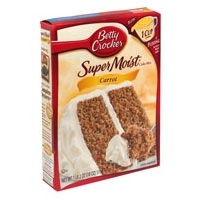 Preparazione per torta alla carota di Betty Crocker