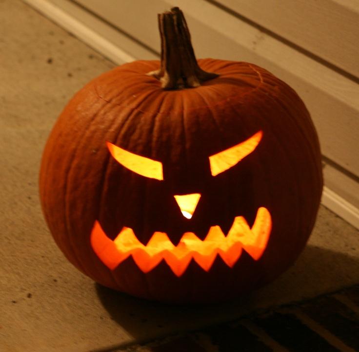 Modelli per le Zucche di Halloween  Stampa e Ritaglia! – 9b4b7edab274