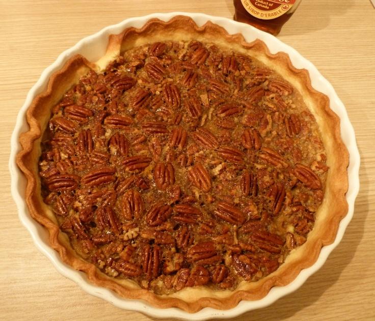 Recette de la tarte aux noix de pécan
