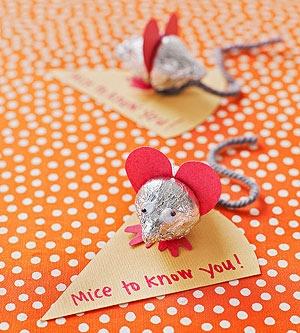 hershey's kisses mouse à offrir pour la saint valentin