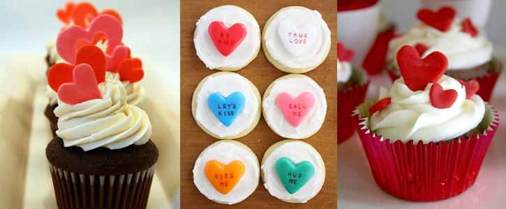 cupcakes pour la st valentin