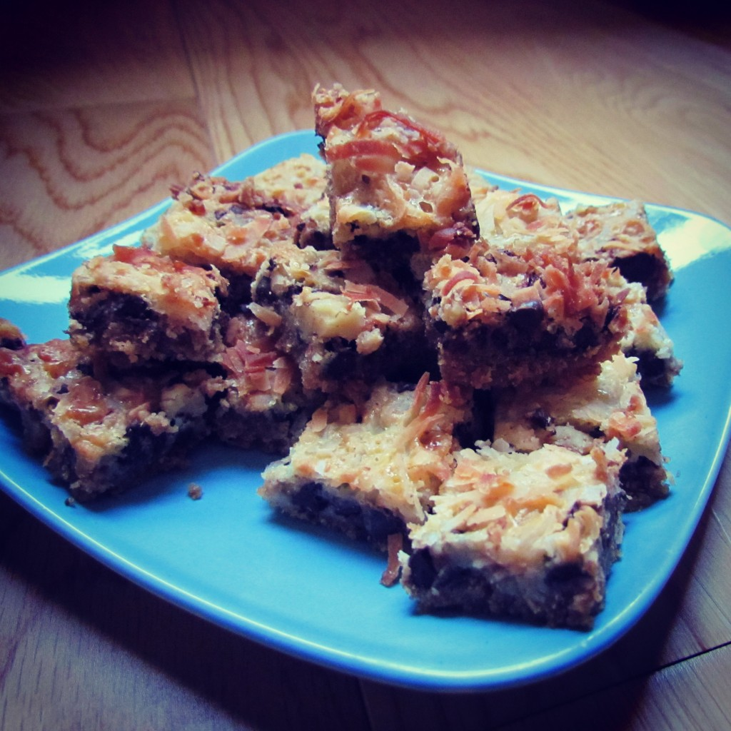 Bocconcini di Magic Cookie Bars