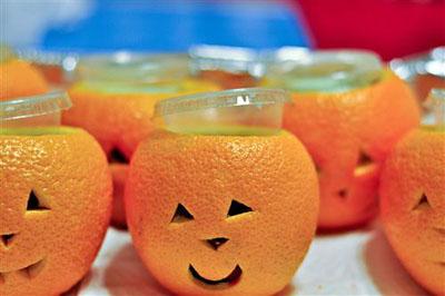 Jello shots  per Halloween