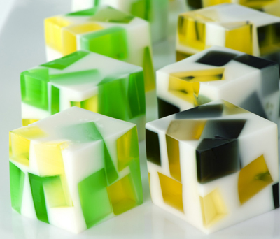 cubi di jello shots