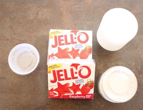 I sacchetti di jello per fare gli shots di gelatina alla vodka