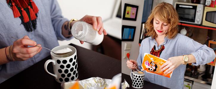 Preparazione della Mugs Cakes by JuicesAndCakes