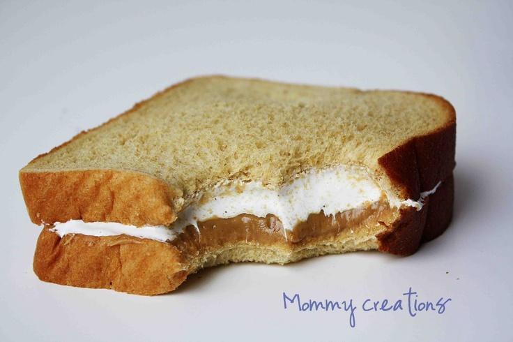 Sandwich fluffer nutter americano
