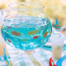 Jello shot bocal à poisson