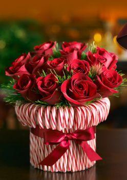 Bouquet de fleurs en cannes à sucre