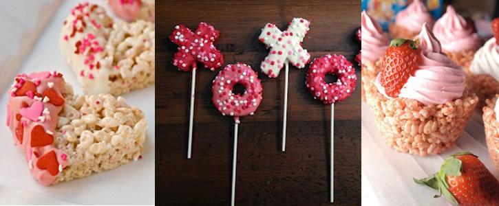Idee per i Rice Krispy di San Valentino