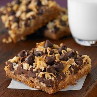 barrette golose al cioccolato e cocco