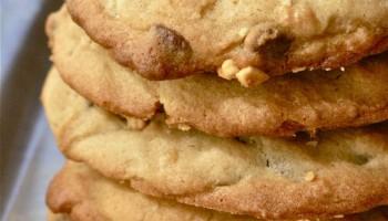 cookies burro arachidi gocce cioccolato